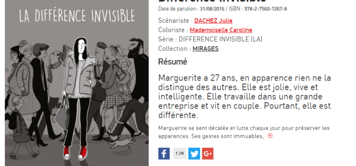 Asperger une différence invisible.